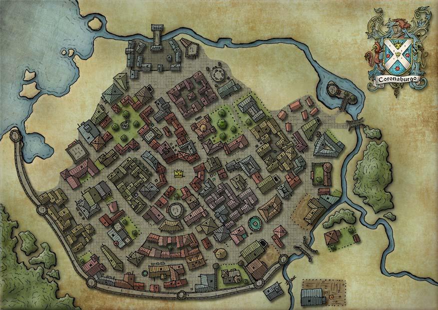 Ver mapa de Coronaburgo